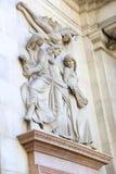 Women Statue - Barcelona Royalty Free Stock Photo