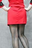 Women in stockings Royalty Free Stock Images