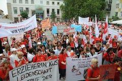 Women striking Royalty Free Stock Image
