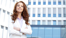 Women or student on the property business background Royalty Free Stock Image