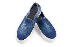 Women stylish sport shoes isolated. On white Stock Photo