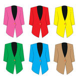 Women Suit 6 colors Royalty Free Stock Photography