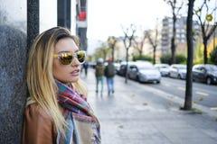 Women in sunglasses. Stock Photos