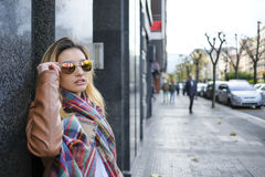 Women in sunglasses. Royalty Free Stock Photos
