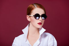 Women in sunglasses Royalty Free Stock Image