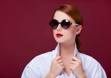 Women in sunglasses Stock Photo