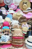 Women sunhat Royalty Free Stock Photos
