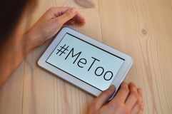 metoo me too royalty free stock photography
