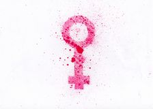 Women symbol Royalty Free Stock Photo