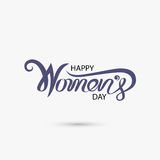 Women symbol and eight logo design. International women`s day. Icon.Women`s day symbol.Minimalistic design for international women`s day concept.Vector Royalty Free Stock Photos