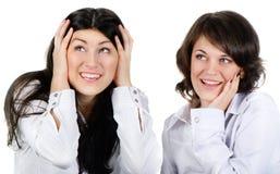 Women talk Royalty Free Stock Photos