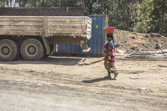 Women in Tanzania. Royalty Free Stock Images