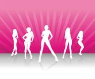 Women Team. Powerpuff Women / Women Team / Girls Stock Photo
