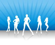 Women Team 2 Royalty Free Stock Images