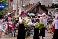 """Women Thai in """"Dien Bien"""" market Royalty Free Stock Images"""