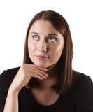 Women thinking Stock Photos