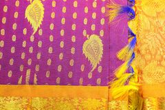 Silk Sari Stock Photos