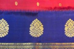 Silk Sari Stock Image