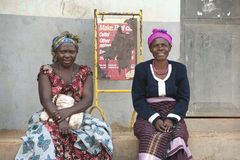 Women in Uganda Royalty Free Stock Photography