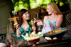 Women On Vacation Royalty Free Stock Photo