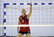 Women volleyball player Stock Images
