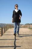 Women walking Royalty Free Stock Photos