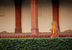 Women walking in Fatehpur Sikri Stock Image