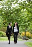 Women Walking In Park Royalty Free Stock Photos