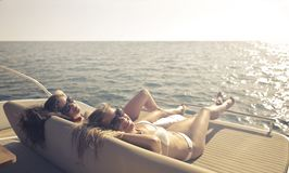 Women Wearing Bikini Royalty Free Stock Photo
