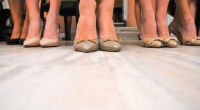 Women wearing shoes Stock Image