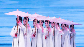 "Women in West Lake-Kunqu Opera""Madame White Snake"" Royalty Free Stock Photography"