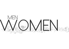 Women What We Areword Cloud Royalty Free Stock Photos