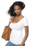 Women - Windblown Fashion Stock Photo