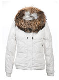 Women winter coat Royalty Free Stock Photos