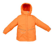Women winter jacket Stock Image