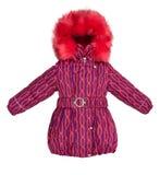 Women winter jacket Royalty Free Stock Photos