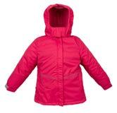 Women winter jacket Stock Image