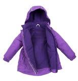Women winter jacket Royalty Free Stock Photo