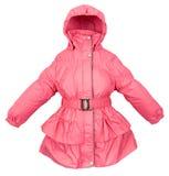Women winter jacket Royalty Free Stock Images