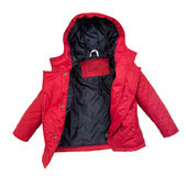 Women winter jacket Stock Photography