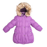 Women winter jacket Stock Photo