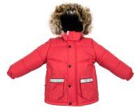 Women winter jacket Royalty Free Stock Photography