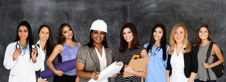 Women In The Work Force Stock Photo