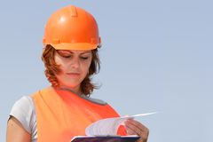 Women worker Stock Photography