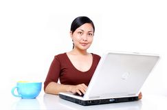Women working Stock Images