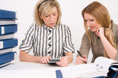 Women working  Stock Image
