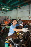 Women working in a artisanal cookies factory Royalty Free Stock Photo