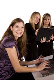 Women working in an office Stock Photography