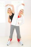 Women working out Royalty Free Stock Photography