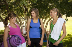 Women Working Out Together Royalty Free Stock Photo
